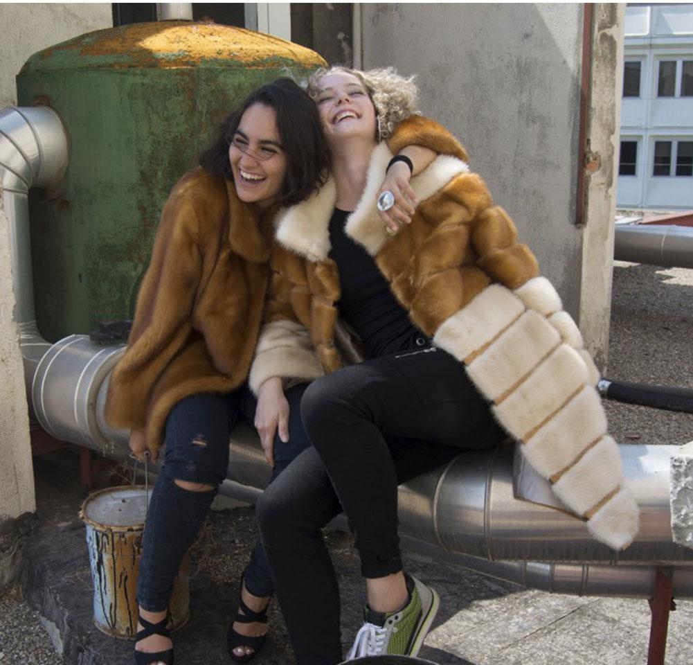 Chaqueta y abrigo de Visón